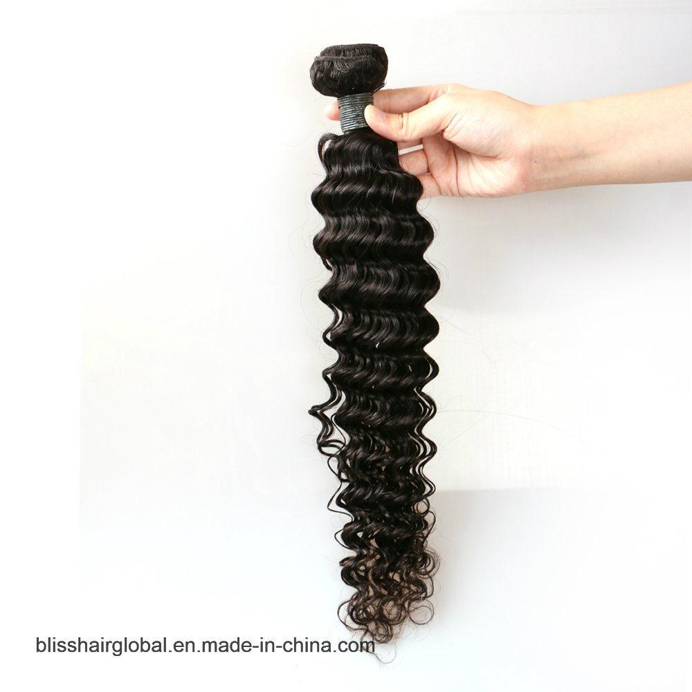 "Bliss Brazilian Plus Deep Wave 10""-30"" Wholesale Price Dyeable Virgin Brazilian Deep Wave Curly Hair"