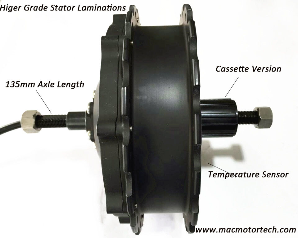 Mac Electric Bicycle Hub Motor 48V 1000watt High Power Motor