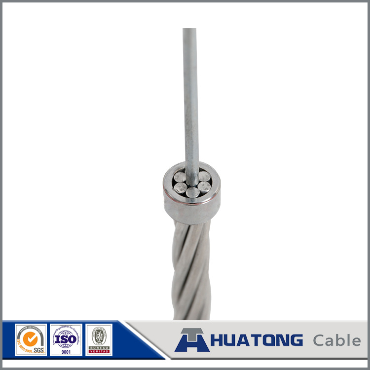 Zinc Coated Guy Wire Stay Wire Gsw Cable Hot DIP Galvanized Steel Wire