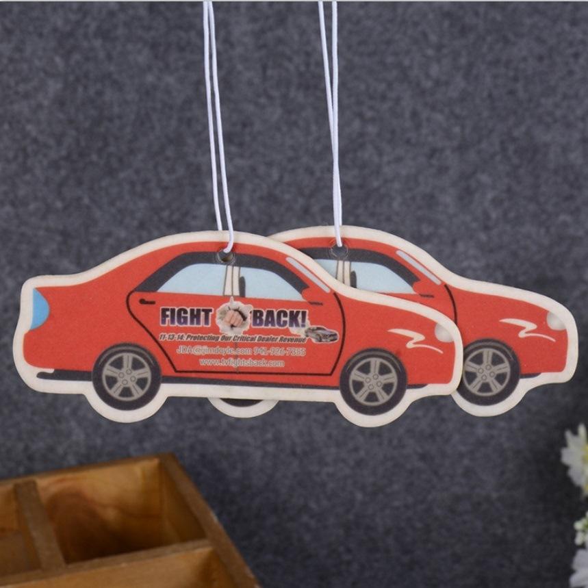 Bulk Paper Car Air Freshener (AF-007)