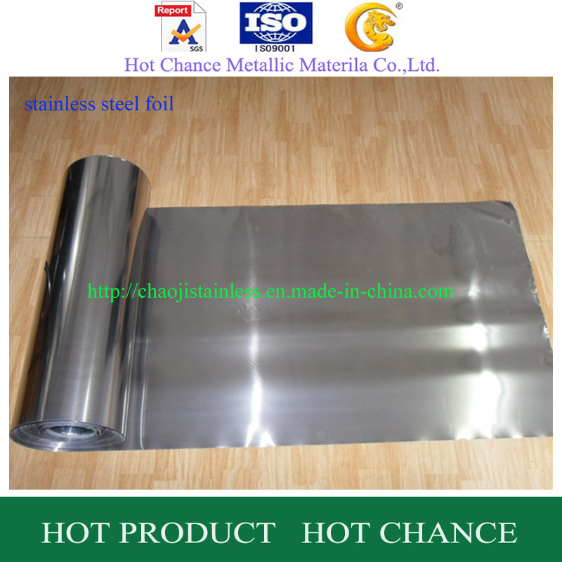 SUS 301, 304, 316 Stainelss Steel Foil