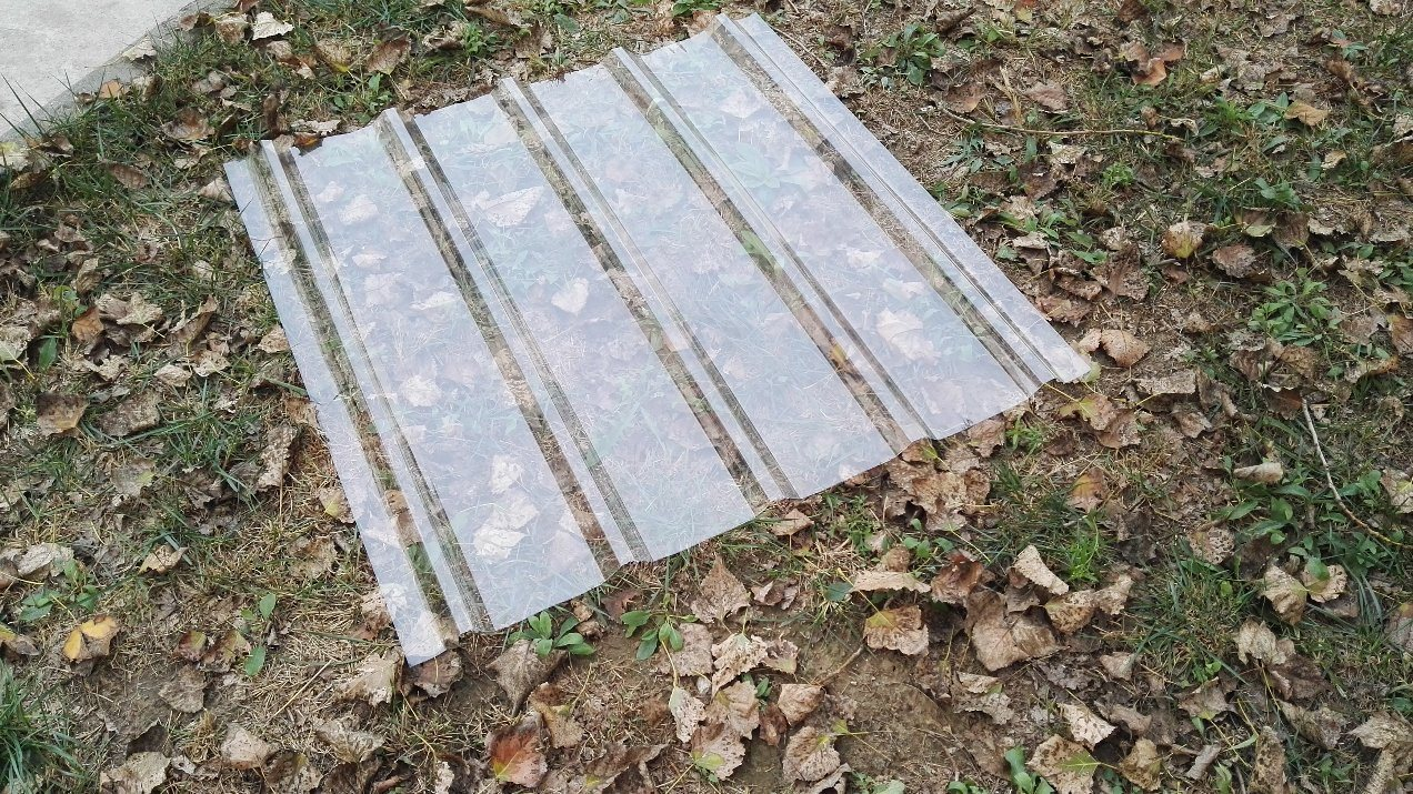 Polycarbonate Sheet Solid Corrguated Sheet