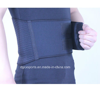 New Embossing Neoprene Waist Belt Support