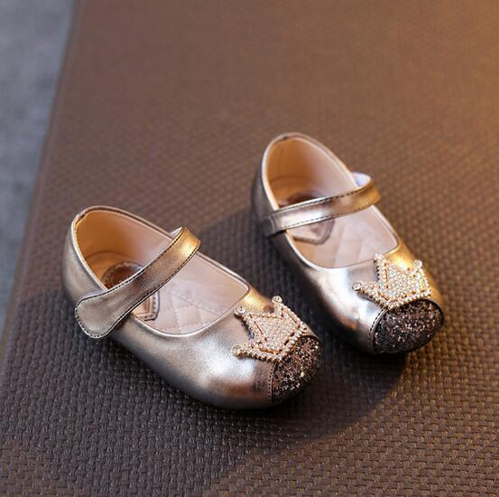 Leather Baby Shoes Indoor Toddler Shoes First Walkers (AKBS15)