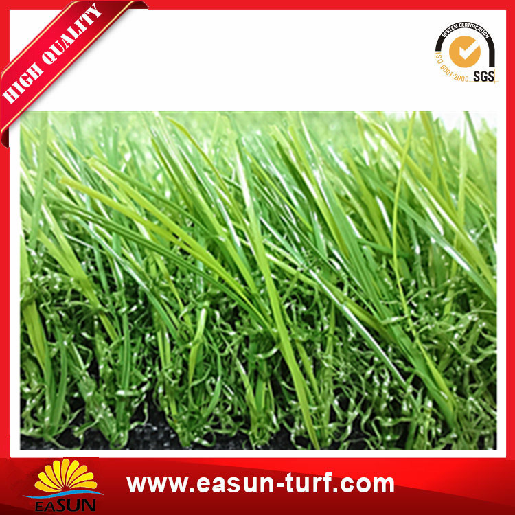 Outdoor Garden Used 35mm Height, V Shape Artificial Grass Synthetic Turf