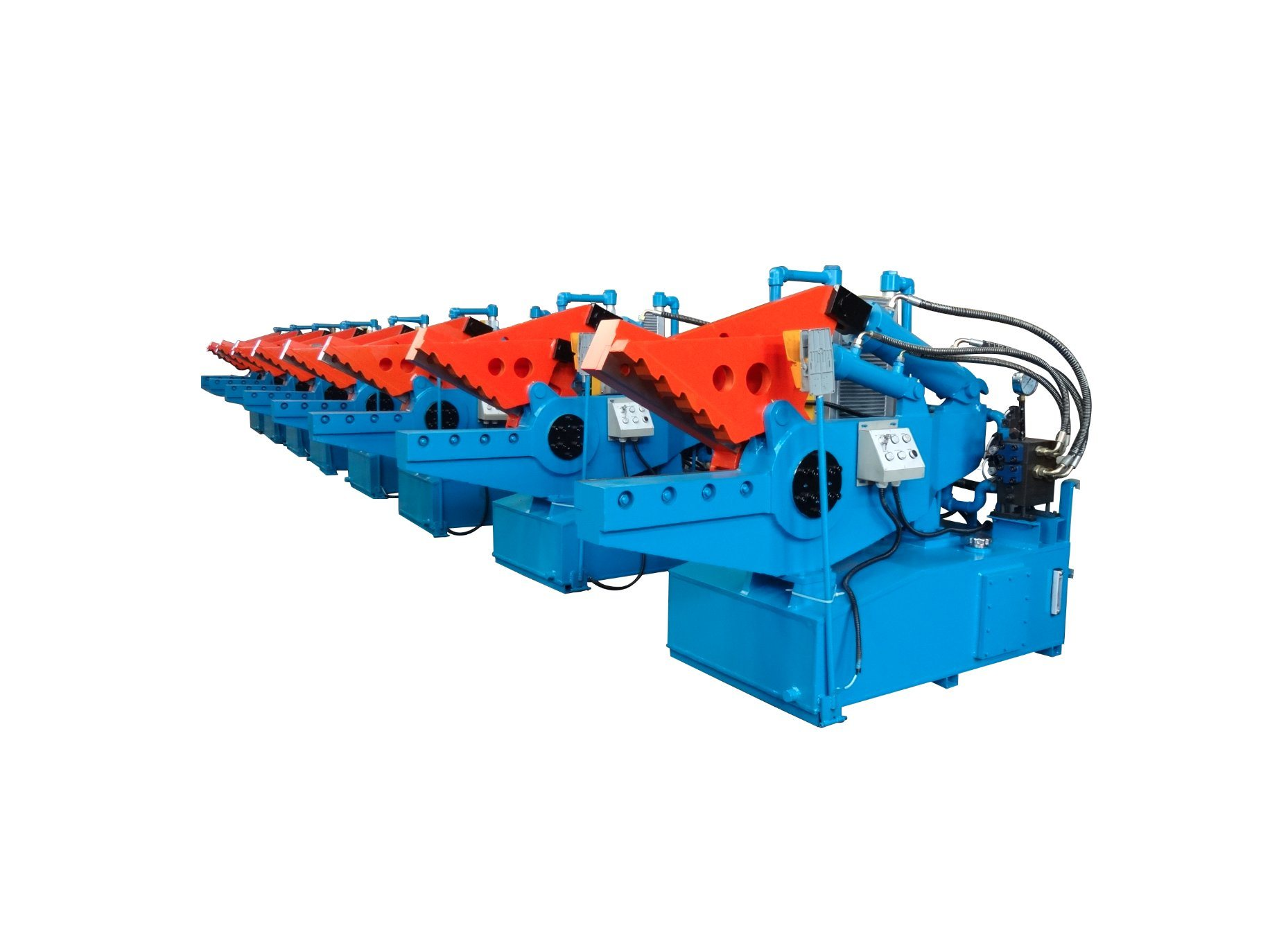 Crocodile Machine for Metal Scrap Steel Aluminum Shear Machine-- (Q08-100)