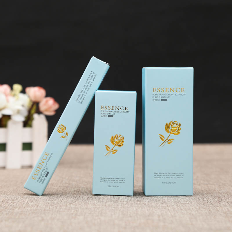 Paper Cosmetic Box Make up Beauty Packing Boxes