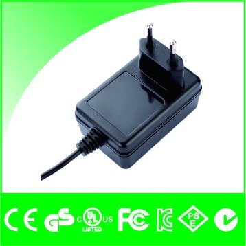 12V 2A AC/DC Portable Wall Power Charger Adapter