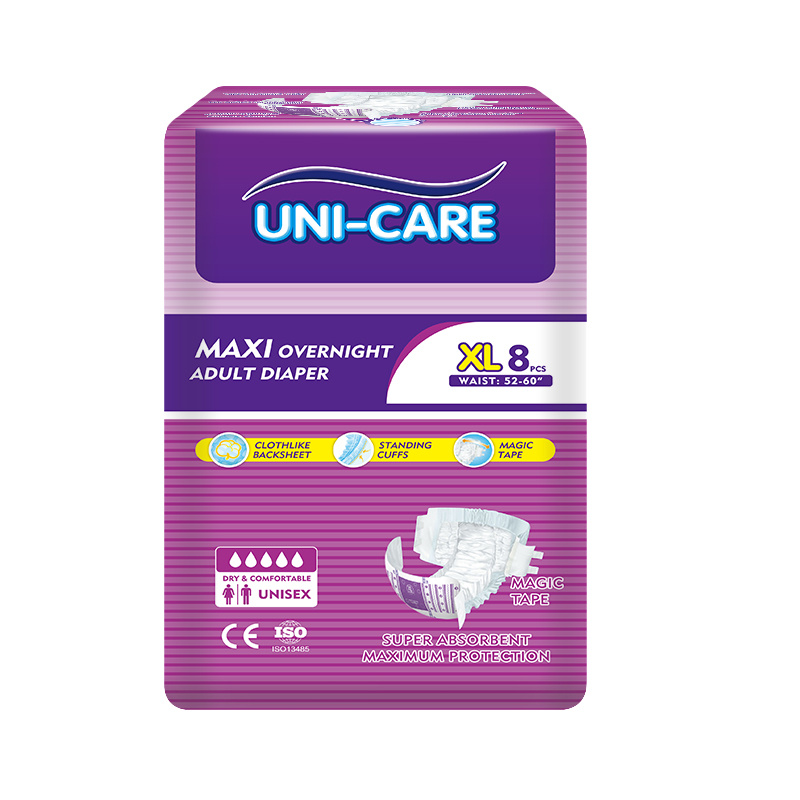 Magic Tape Hold Adult Diapers OEM Manufacturer Disposable Nappy