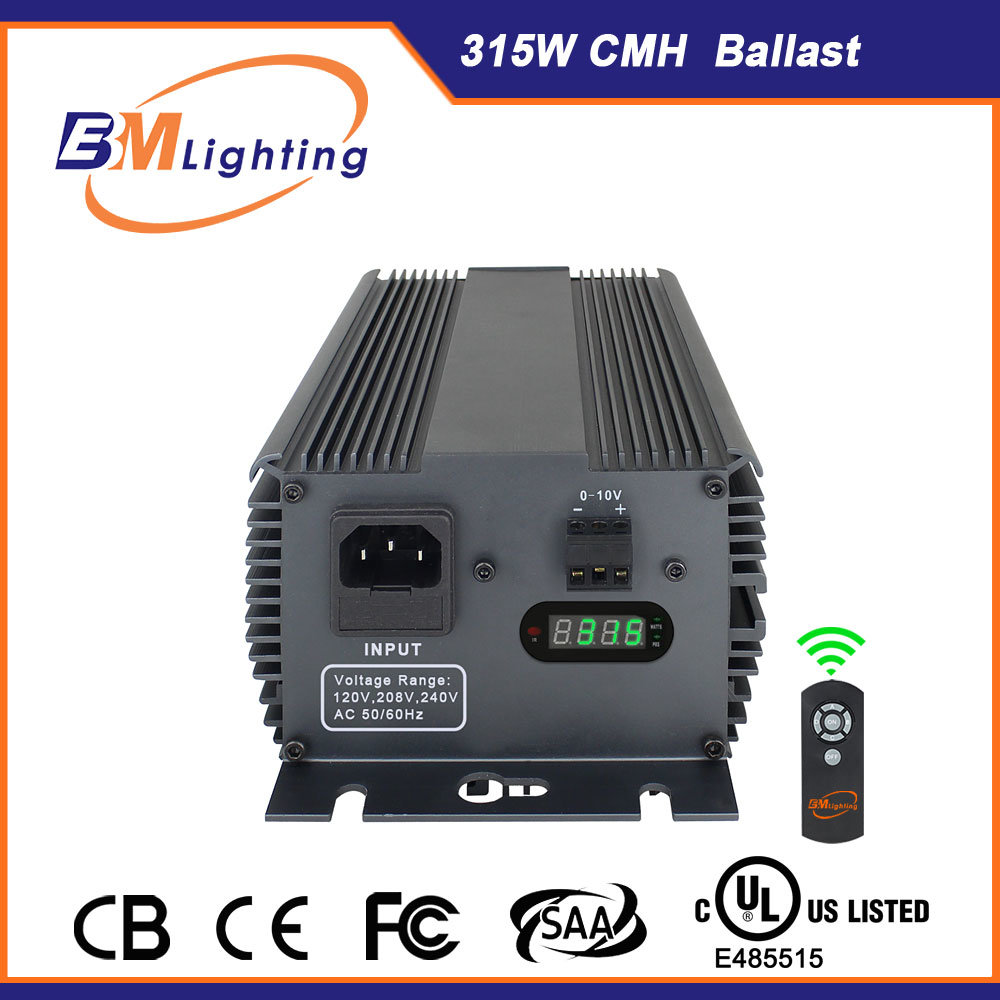 2016 Hydroponic Grow Systems New 315W CMH Digital Electronic Ballast