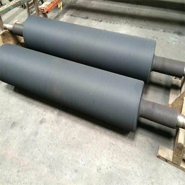 Rubber Coated Plated Coating Aluminum aluminium Roller/Rolls for Belt Conveyor