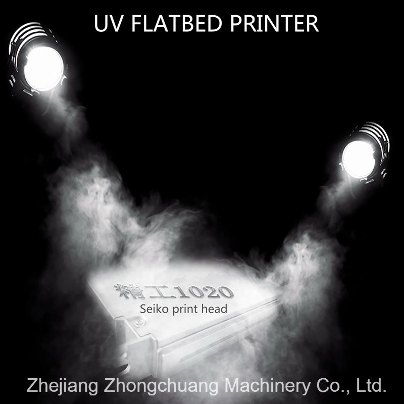 High Speed LED Wide Format UV Flatbed Printer for Wood/ Tiles/ Porcelain/ MDF