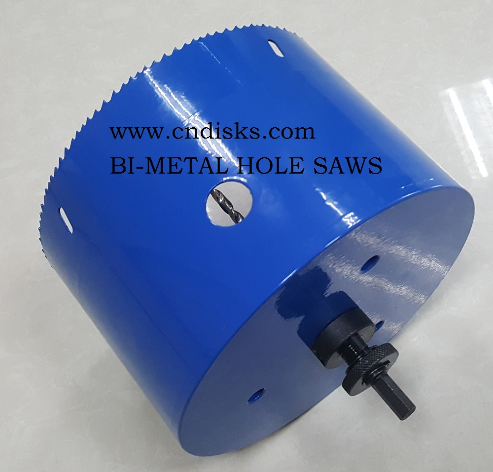 Bi-Metal Hole Saws (LONG TYPE)