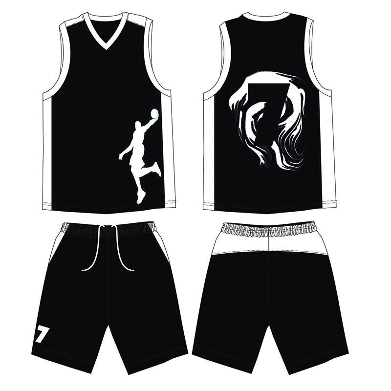 2017 Latest Sportswear Basketball Jersey with Customize Logo