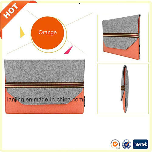 Wholesale Custom Cheap Price 13 15 17 19 20 Inch Felt Laptop Bag for MacBook