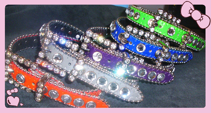 Bb Simon Luxury Dog Collar, Crystal Pet Collar