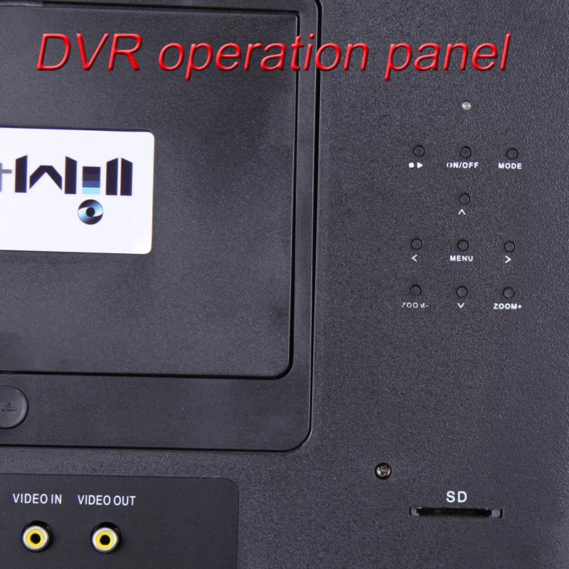 Underwater 360 Degree Camera 7′′ Digital Screen DVR 7B