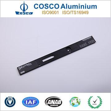 New Design Aluminium Extrusion for Equipment Panel