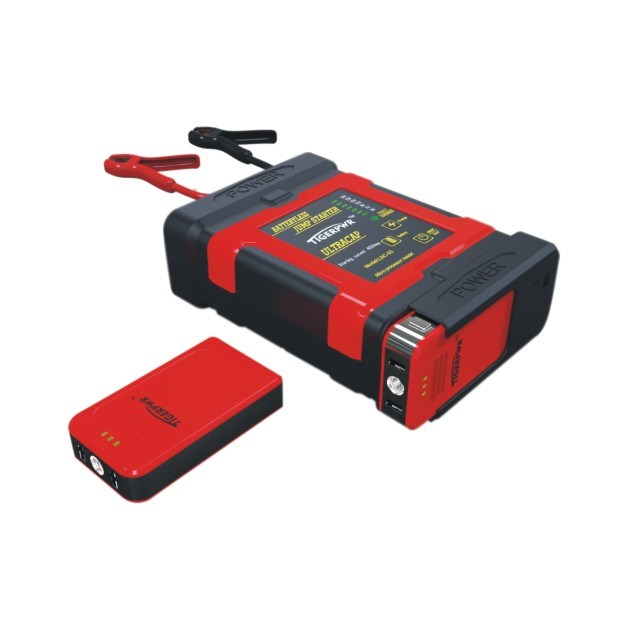 Ultra Capacitor Jump Starter with Lithuiam Battery