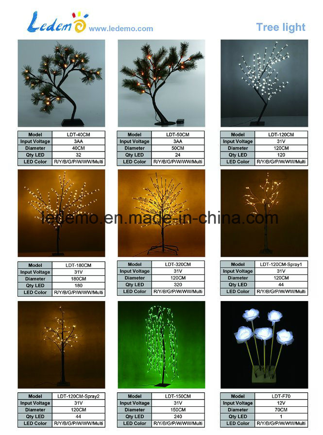 Christmas Decoration 180cm LED Tree Light
