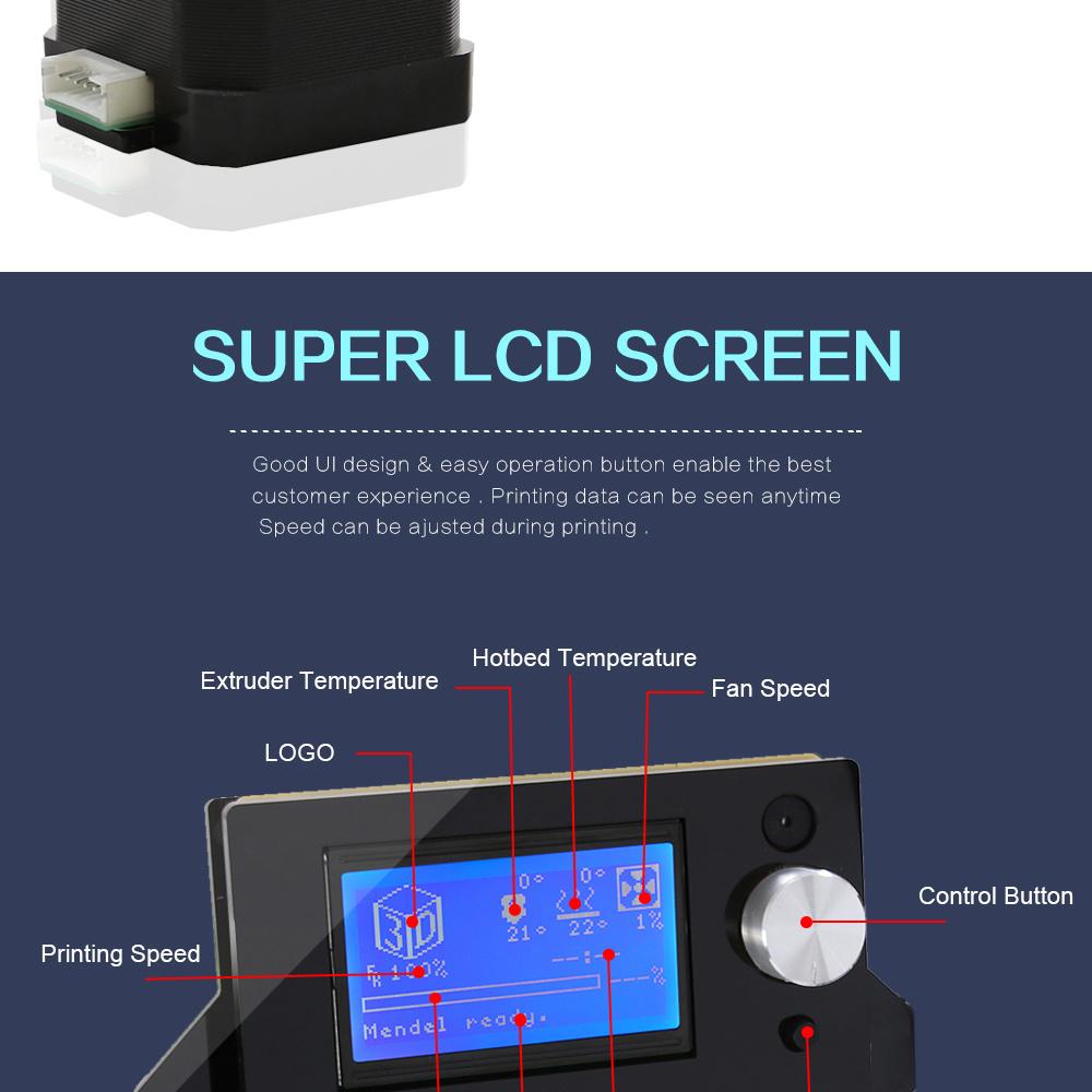 Anet A2 Wholesale Prusa I3 3D Printer