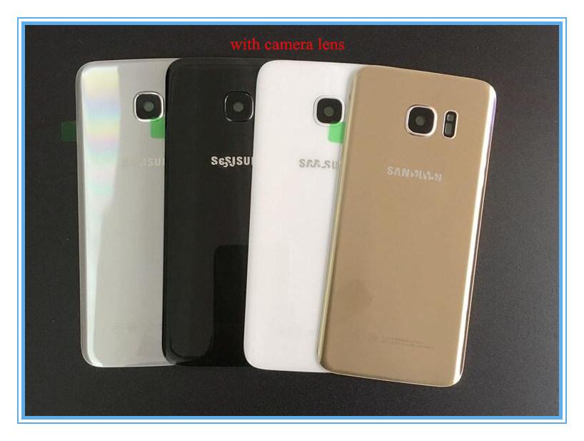 Mobile Phone Back Cover Glass Len Housing for Samsung S7 Edge G9300 G9350