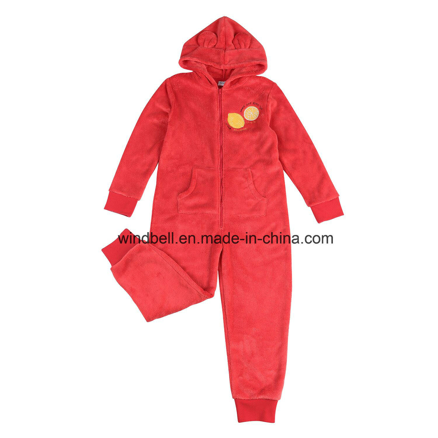 Polar Fleece Jumpsuits for Girl