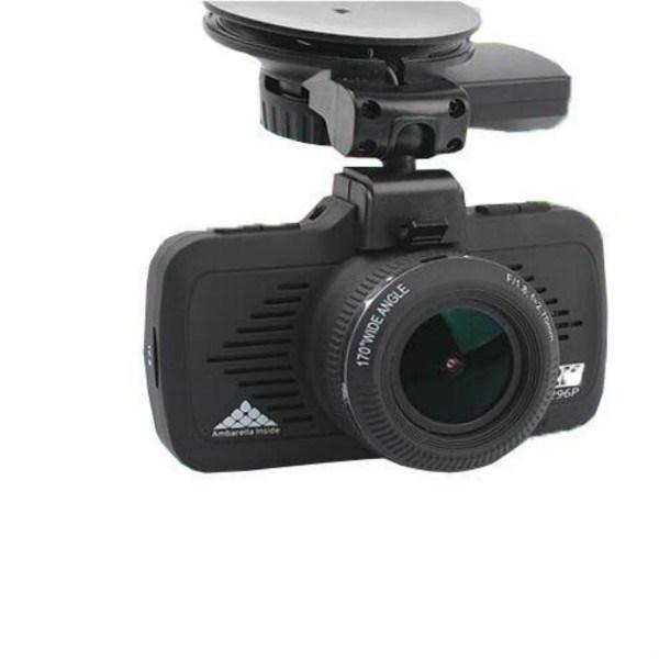 HD 1296p Ambarella Car Crash Dash GPS Camera
