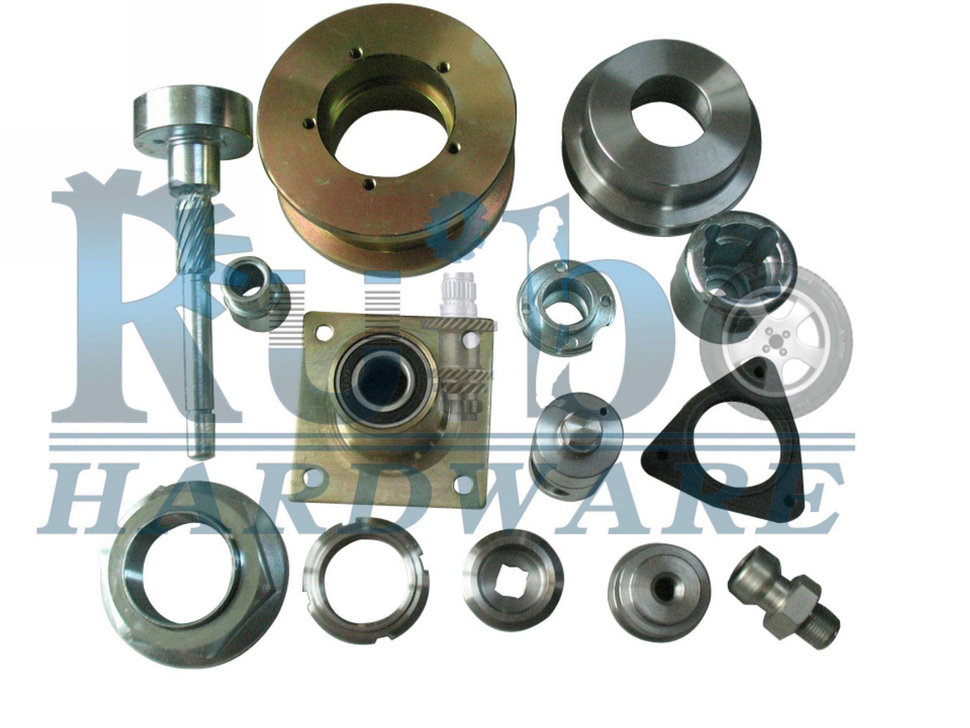 parts of a cnc machine