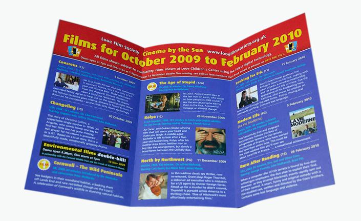 Tri-Folded Printing Brochure &Leaflets (YY-B0029)
