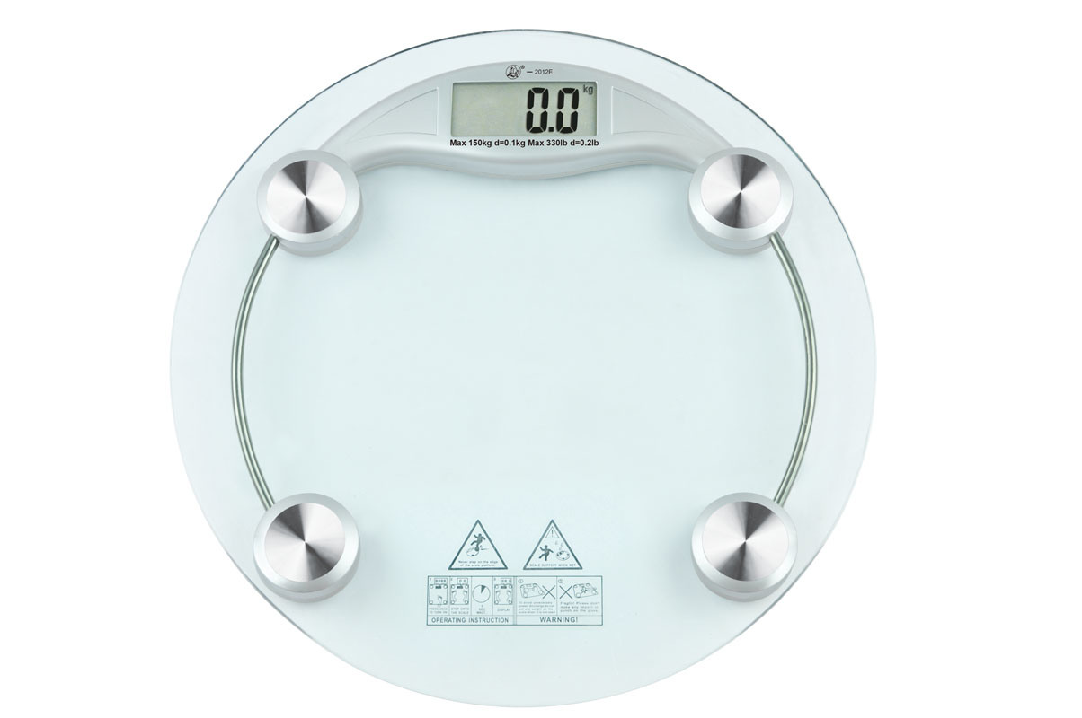 Merveilleux 9013 Glass Electronic Bathroom Scale