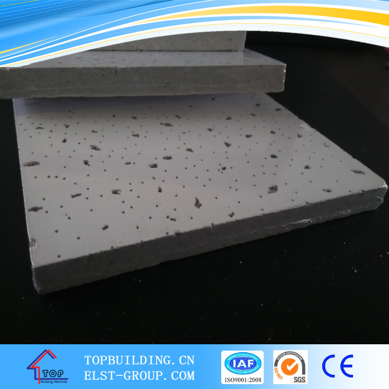 Tegular Edge Acoustic Mineral Fiber Ceiling Board 12mm/15mm