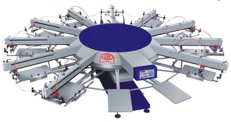 screen printing machine for t shirts