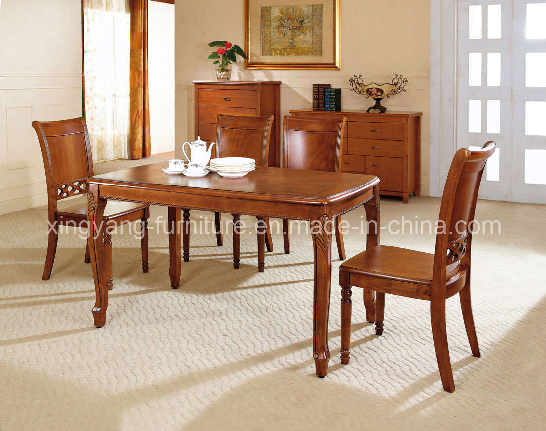 Wood Dining Table 4 Chairs Chair Pads Amp Cushions