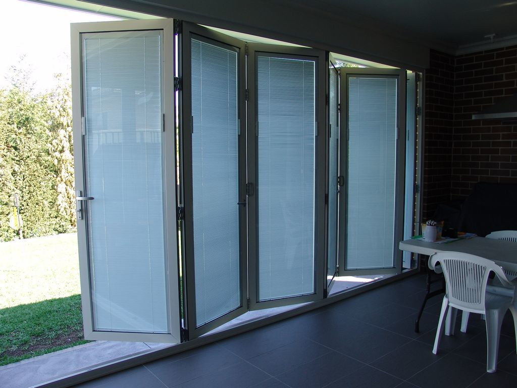 Built In Shutter Folding Doors Photos Amp Pictures
