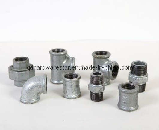China electric galvanized malleable iron pipe fitting