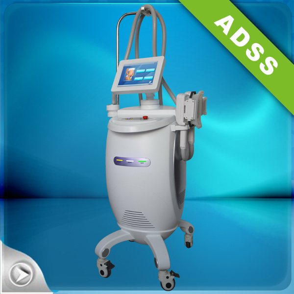 Acoustic Wave Therapy / Cryo Ultrasonic Cavitation Weight Loss Equipment