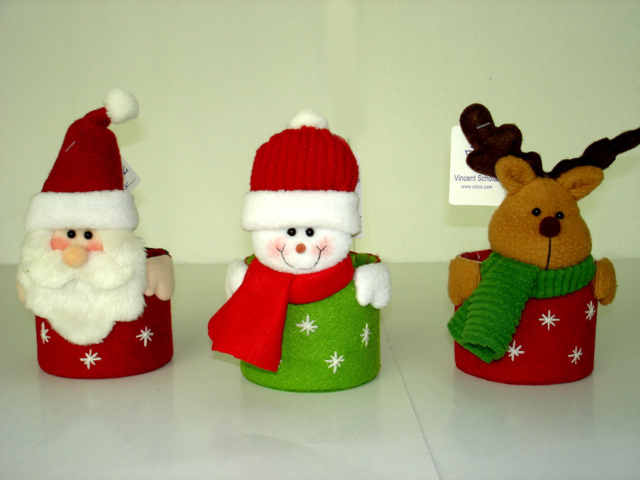 santa claus and his team of magical flying reindeer led by