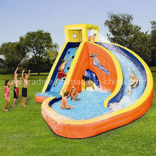 China inflatable water slide with a pool ch 042 photos - Toboggan piscine gonflable intex ...