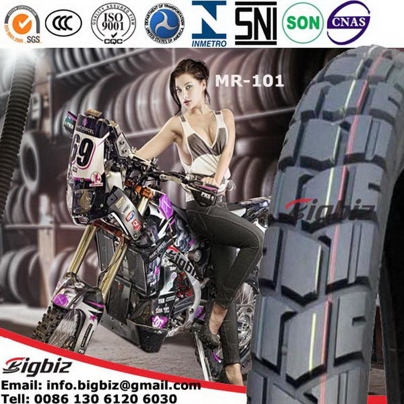 Cheap Price 3.00-18 3.00-17 Motorcycle Tire/Tyre with Tube