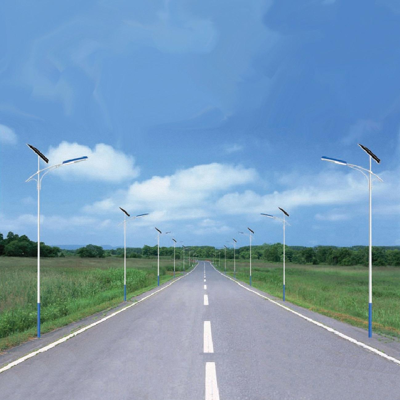 China led solar street light 30w 6m pole stl63035 china led solar