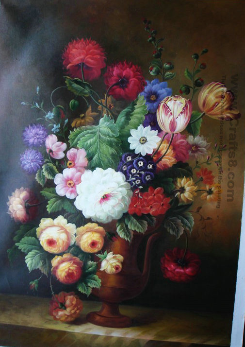 China Oil Painting Flowers Painting Art