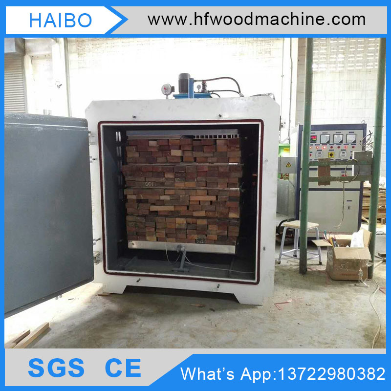 Hot Sale 6.0cbm Hf Vacuum Chamber Lumber Dryer Kilns Price