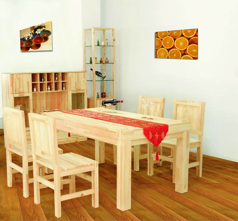 Dining table and dining chairs - innovative style
