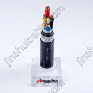 0.6/1kv PVC Insulated Power Cable with Steel Armoured