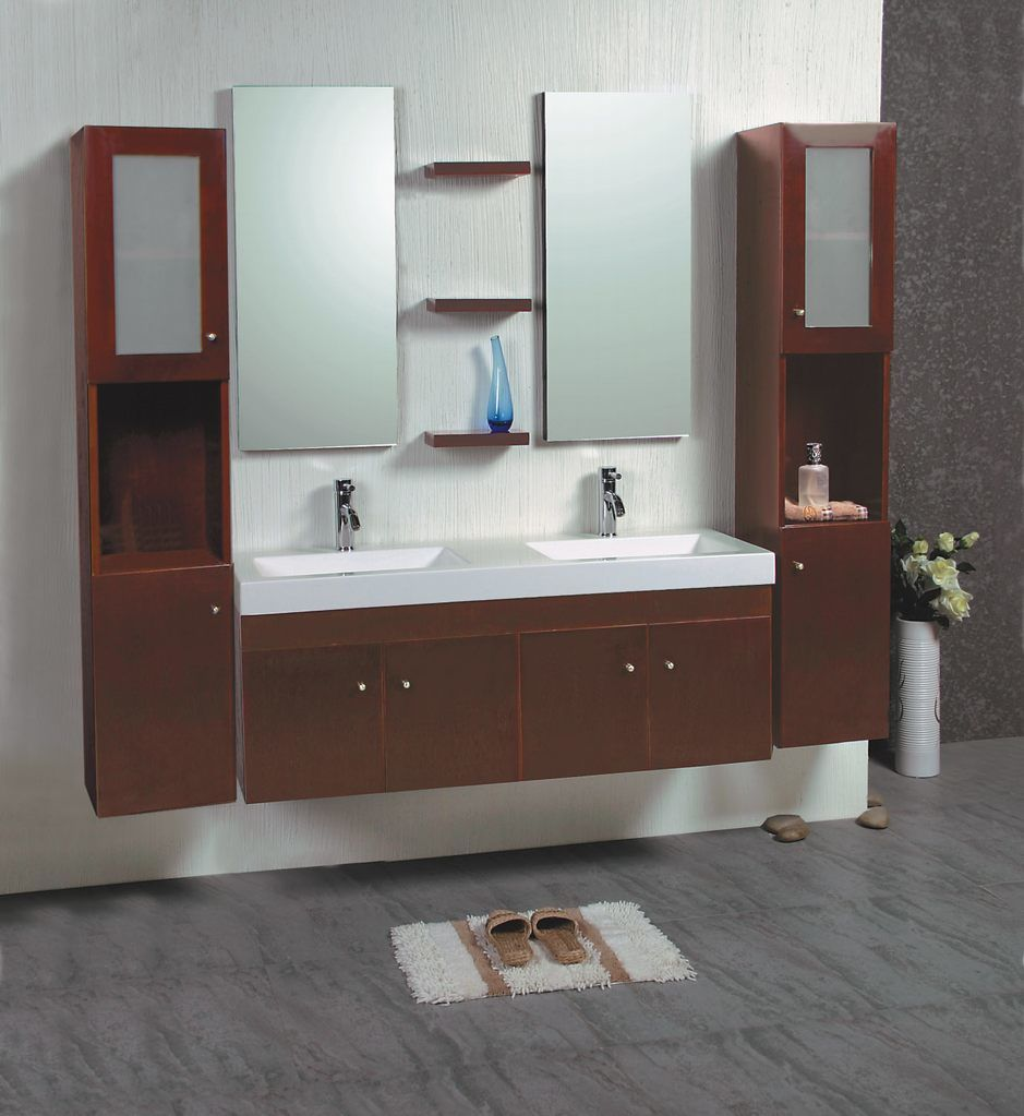 wood bathroom cabinet g8011 china solid wooden bathroom cabinet
