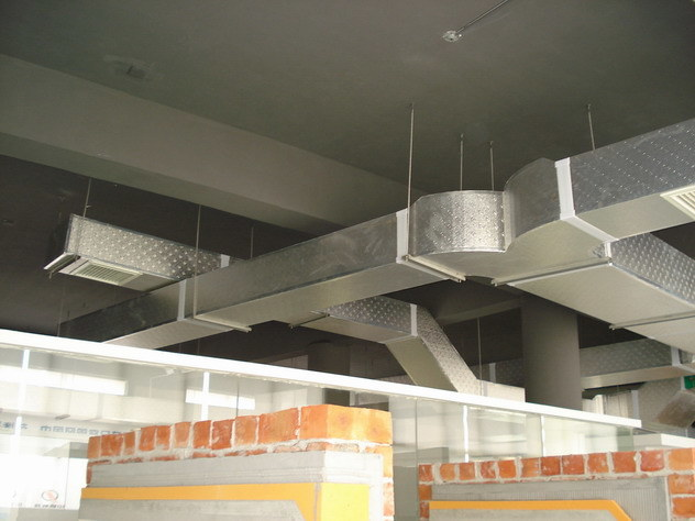 Air Conditioning Ducts Support Details : China air duct for central conditioner
