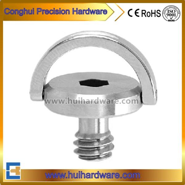 "CNC Precision Machining 1/4"" Hex Socket Metal Camera Screw"