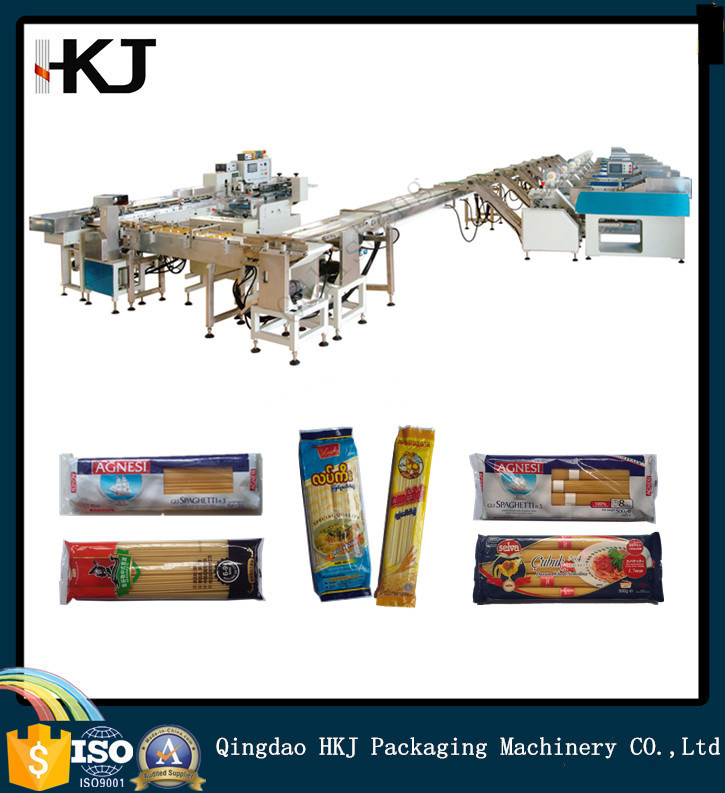 Automatic Spaghetti Pasta Noodle Weighing Packing Machine with Eight Weighers
