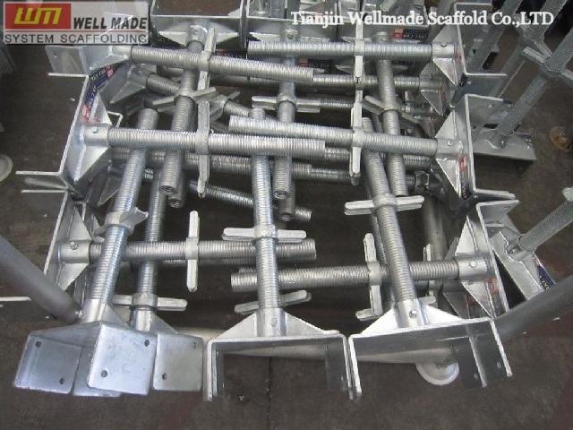 Screw Jacks For Shoring : China shoring system scaffolding heavy adjustable u head
